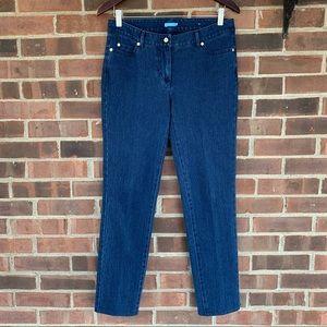 Like new J. McLaughlin skinny cropped jeans